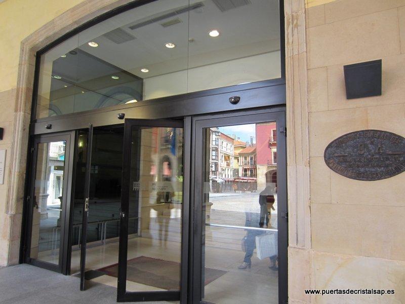Puertas automaticas ayuntamiento de gijon for Puertas automaticas cristal