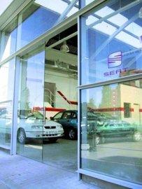 Puertas de Cristal SAP - SEAT - Sistemas Automáticos de Paso