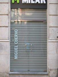 Puertas de Cristal SAP - Persiana. Milar Avilés - Sistemas Automáticos de Paso