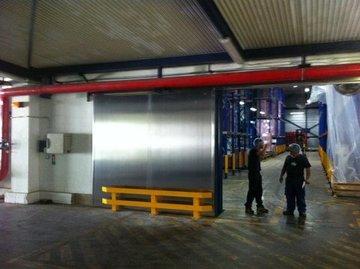 Puertas de Cristal SAP - Mantenimiento puertas industriales - Sistemas Automáticos de Paso
