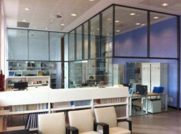 Puertas de Cristal SAP - Divisiones de vidrio en casa cultura Pravia - Sistemas Automáticos de Paso