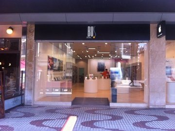 Puertas de Cristal SAP - Puerta de cristal automática. Tienda Apple Oviedo - Sistemas Automáticos de Paso
