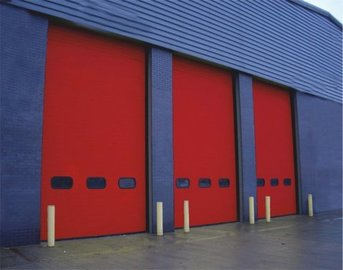 Puertas de Cristal SAP - Seccionales Industriales. Levant2 - Sistemas Automáticos de Paso