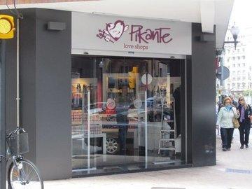 Puertas de Cristal SAP - Puerta de cristal automática de cristal. Pikante Gijón  - Sistemas Automáticos de Paso