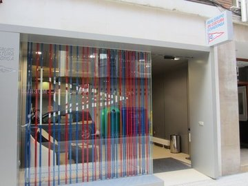 Puertas de Cristal SAP -  Puerta de cristal automática. Grupo Cultura Covadonga - Sistemas Automáticos de Paso