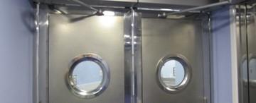 Puertas de Cristal SAP - Hospital de Begoña - Sistemas Automáticos de Paso