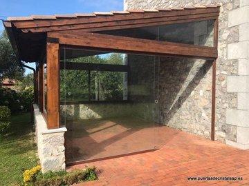 Puertas de Cristal SAP - Puerta de cristal manual Ribadesella, Asturias - Sistemas Automáticos de Paso
