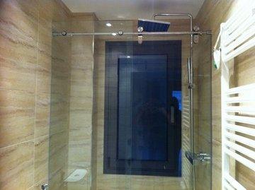 Puertas de Cristal SAP - Mampara baño - Sistemas Automáticos de Paso